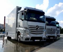 Najnowsze mobilne symulatory jazdy samochodem ciężarowym